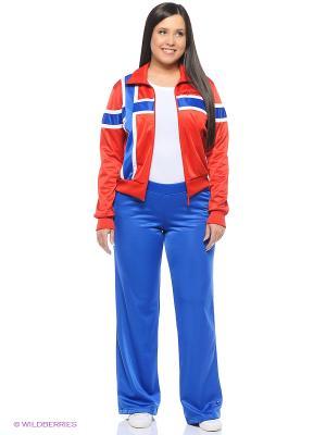 Спортивный Костюм ADDIC. Цвет: красный, синий