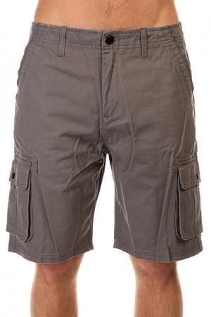 Шорты джинсовые  Deluxe Castlerock Quiksilver. Цвет: серый