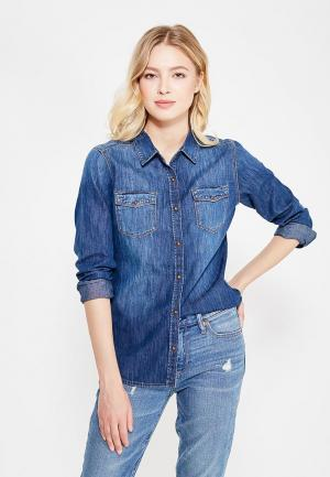 Рубашка джинсовая Mavi. Цвет: синий