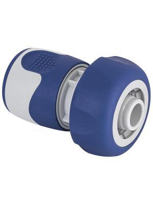 Коннектор для шланга 19 мм (3/4), пластик, TPR GREEN APPLE. Цвет: белый, синий