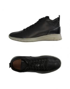 Высокие кеды и кроссовки FEIT. Цвет: черный