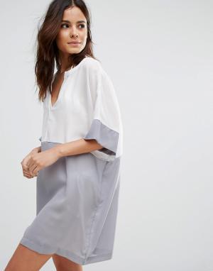 Echo Пляжное платье. Цвет: белый