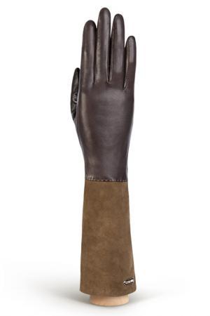 Перчатки Eleganzza. Цвет: темно-коричневый, серый