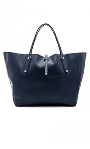 Большая сумка-тоут isabella Annabel Ingall. Цвет: синий