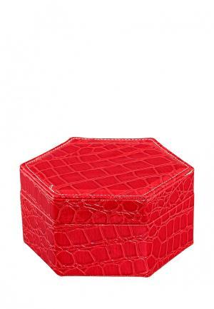 Шкатулка El Casa. Цвет: красный