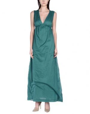Длинное платье NOLITA. Цвет: зеленый