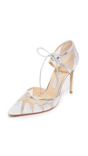 Туфли-лодочки Lana Bionda Castana. Цвет: голубой
