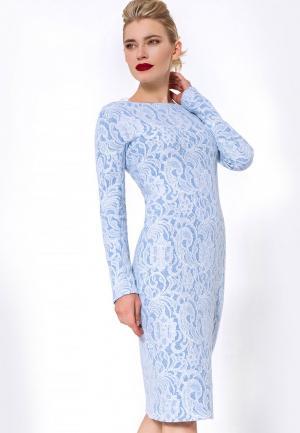 Платье JN. Цвет: голубой