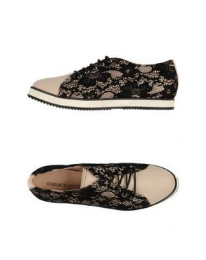 Обувь на шнурках DANIELE TUCCI. Цвет: черный