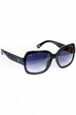 Очки солнцезащитные Loewe. Цвет: синий