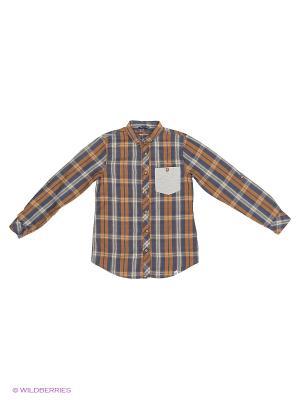Рубашка Reserved. Цвет: хаки, оливковый