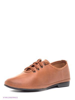 Туфли Roccol. Цвет: коричневый
