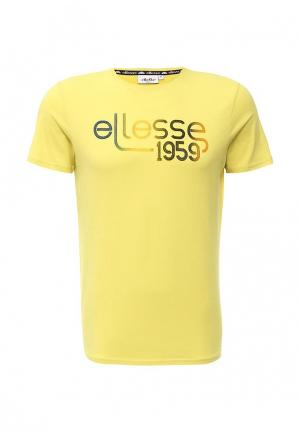 Футболка Ellesse. Цвет: желтый
