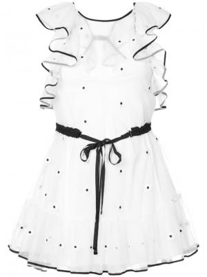 Платье Fresh as a Daisy Alice Mccall. Цвет: белый