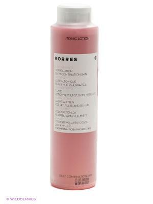 Тонизир.лосьон с гранатом для жирной и комбинир-ой кожи 200 мл Ежедневное Очищение Korres. Цвет: прозрачный