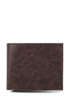 Кошелек Billabong. Цвет: коричневый