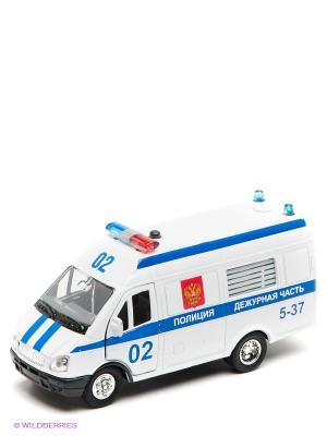 Машина Технопарк  Газель полиция. Цвет: белый
