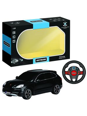 Машина р/у Porsche Cayenne Turbo 1:24 HOFFMANN. Цвет: черный