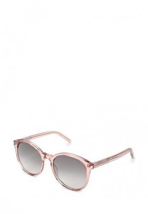 Очки солнцезащитные Saint Laurent. Цвет: розовый