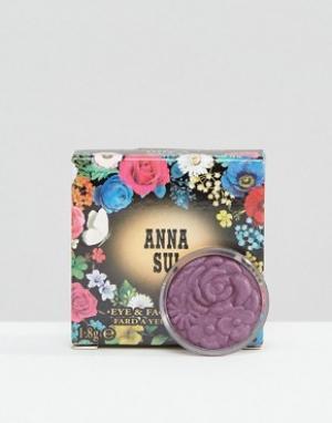 Anna Sui Тени для век и лица Velvet Corsage. Цвет: коричневый