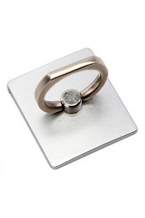 Кольцо-держатель и подставка BRADEX. Цвет: серебряный