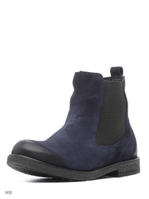 Ботинки Sekada. Цвет: темно-синий