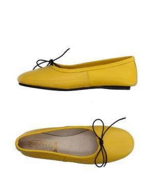 Балетки VIRREINA. Цвет: желтый