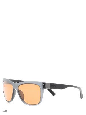 Солнцезащитные очки RH 823S 01 Zerorh. Цвет: серый, черный