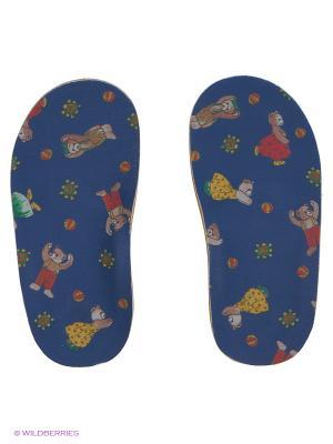 Стельки ортопедические детские GELD. Цвет: синий