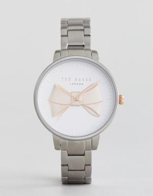 Ted Baker Серебристые наручные часы. Цвет: серебряный