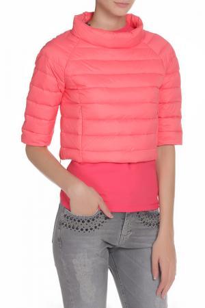 Куртка-накидка PINKO TAG. Цвет: розовый