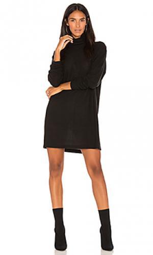 Мини платье dakota A Fine Line. Цвет: черный