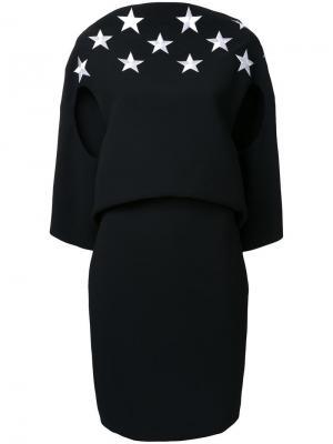 Платье Triangle Backless Gareth Pugh. Цвет: чёрный