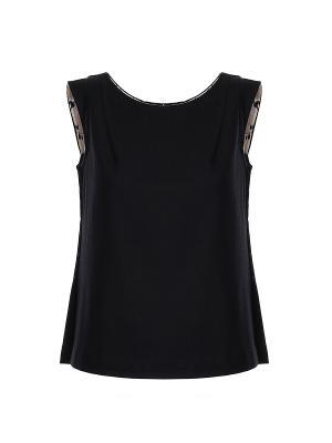 Блуза UNQ. Цвет: черный