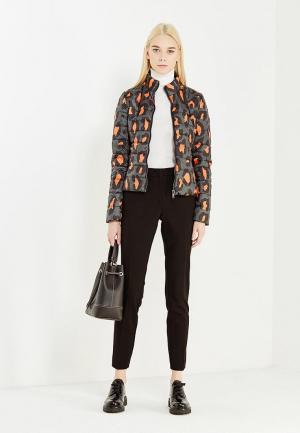 Куртка утепленная Liu Jo Jeans. Цвет: разноцветный