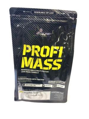 Гейнер Profi Mass (шоколад) 1000 гр Olimp Nutrition. Цвет: черный, белый