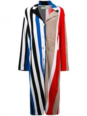 Multi-print coat Off-White. Цвет: многоцветный
