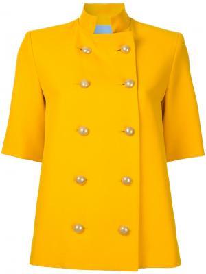 Блейзер Temperate Macgraw. Цвет: жёлтый и оранжевый