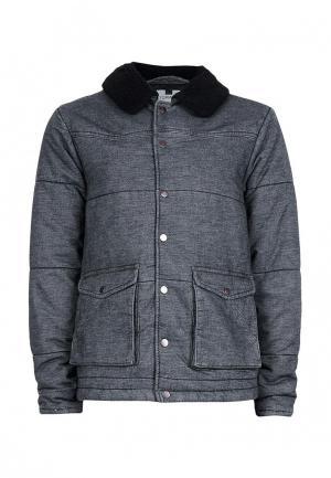 Куртка утепленная Topman. Цвет: серый