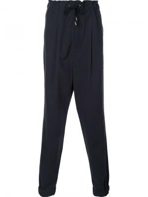 Водонепроницаемые спортивные брюки Icosae. Цвет: чёрный