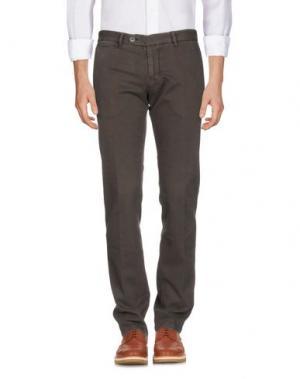 Повседневные брюки J.W. BRINE. Цвет: какао