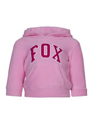 Худи FOX. Цвет: бледно-розовый