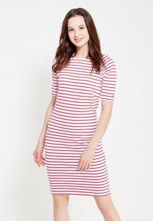 Платье Tommy Hilfiger Denim. Цвет: розовый