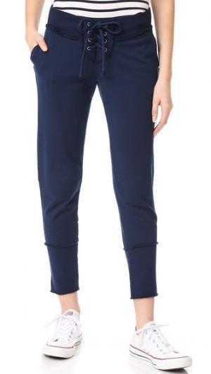Укороченные спортивные брюки Kella Young Fabulous & Broke. Цвет: чернильный