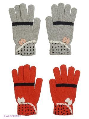 Перчатки FOMAS. Цвет: коралловый, кремовый, серый, молочный