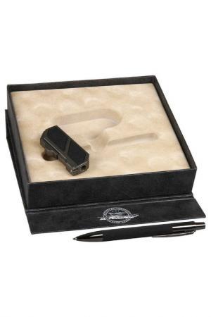 Набор: зажигалка, ручка Mr.Forsage. Цвет: черный