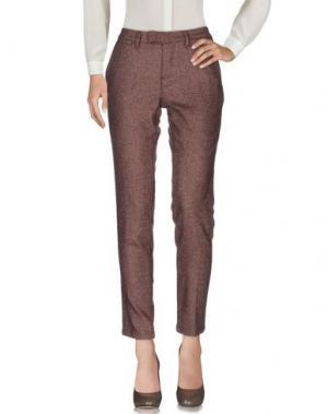 Повседневные брюки HAIKURE. Цвет: какао