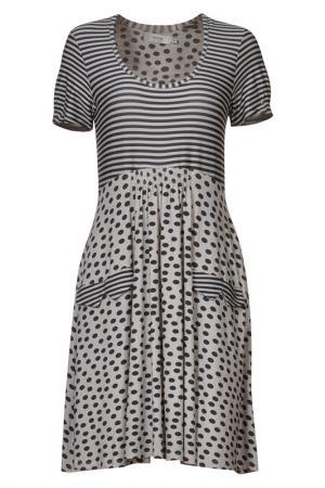 Платье MYRINE. Цвет: бежевый