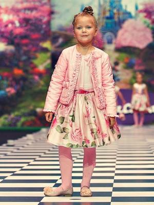 Куртка Stilnyashka. Цвет: бледно-розовый