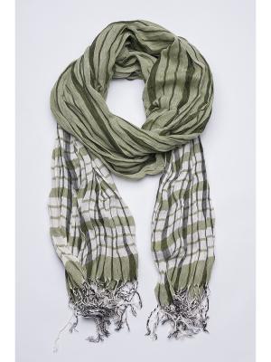 Палантин Venera. Цвет: зеленый, светло-зеленый
